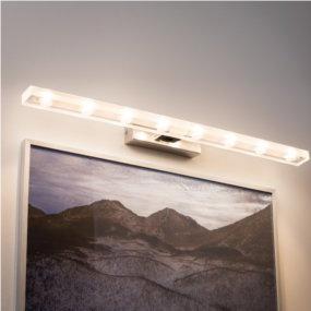 LED-Bilderleuchten strahlen ohne Schattenbildung